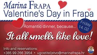 Valentine's Day in Frapa - It all smells like love!