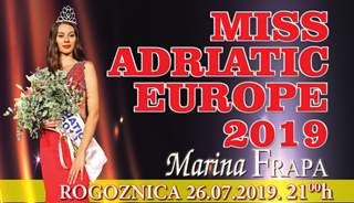 Izbor ljepote: Miss Adriatic Europe 2019