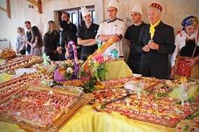 Easter tradition in Rogoznica: Easter breakfast