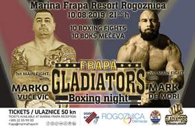 Box event: Frapa Gladiators Boxing Night
