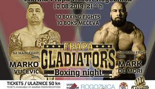 Boks event: Frapa Gladiators Boxing Night